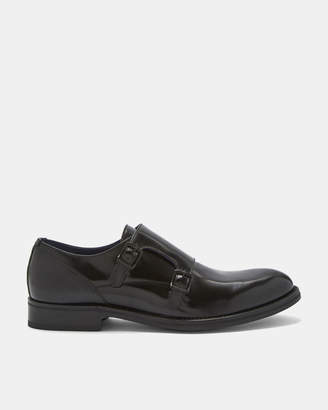Ted Baker ELLDER Italian leather monk shoes