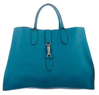 Gucci Medium Jackie Soft Tote Teal Medium Jackie Soft Tote