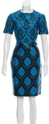 Mary Katrantzou Ikat Sheath Dress