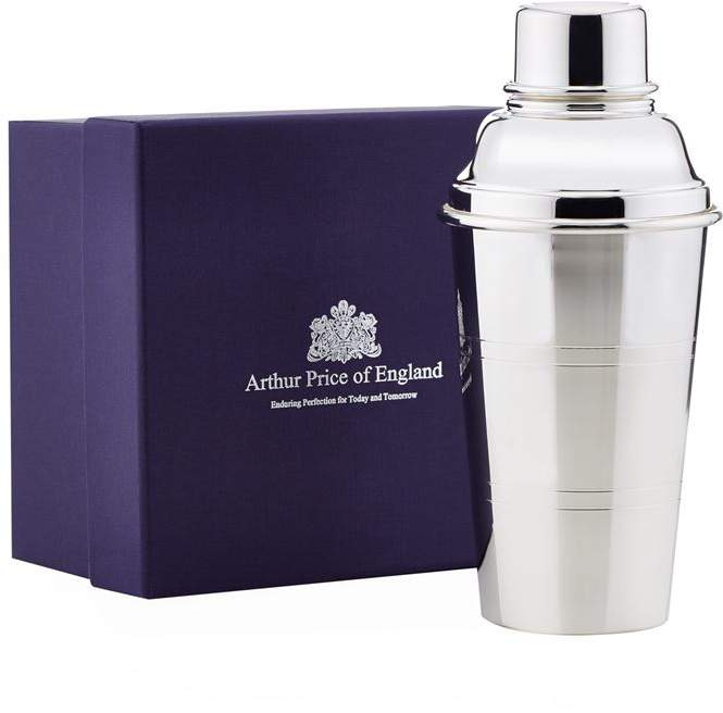 Arthur Price Of England Silver Plated Cocktail Shaker