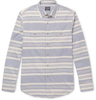 J.Crew Carolina Striped Cotton Shirt