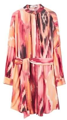 MANGO Belt printed dress