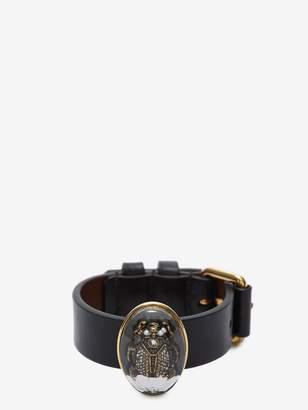 Alexander McQueen Resin Beetle Bracelet