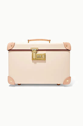 Globe-trotter Safari 13'' Leather-trimmed Fiberboard Vanity Case - Cream