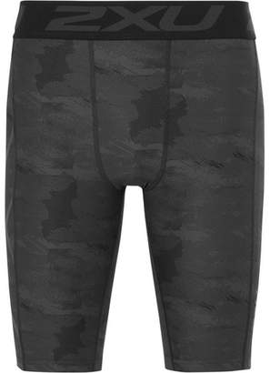 2XU Accelerate Printed Compression Shorts