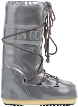 Moon Boot Faux Patent Nylon Snow Boots