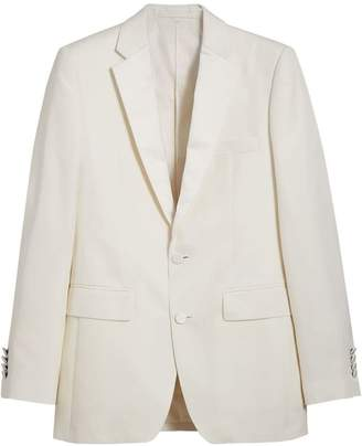 Burberry Slim Fit Silk Evening Jacket