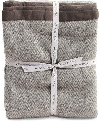 Made In Italy Luxury Lambs Wool Blanket