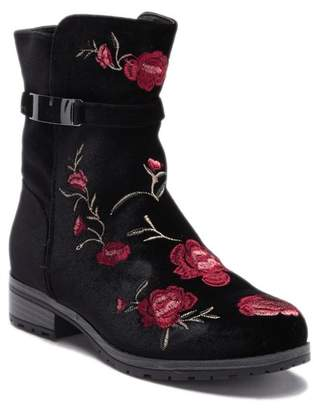 XOXO Embroidered Sporty Oxford Boot (Little Kid & Big Kid)