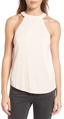 Women's Trouve Open Back Tank $49 thestylecure.com