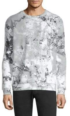 HUGO Snow Camo Crewneck Sweater