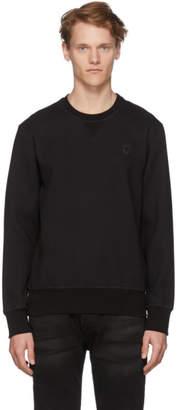 Alexander McQueen Black Crepe Sport Sweatshirt