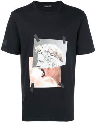 Neil Barrett collage print T-shirt
