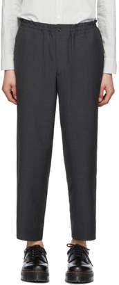 Comme des Garcons Homme Deux Homme Deux Grey Tropical Wool Trousers