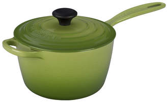 Le Creuset Enameled Cast Iron Signature Saucepan with Lid