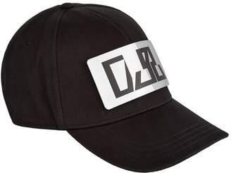 Diesel Cotton Detachable Plaque Cap