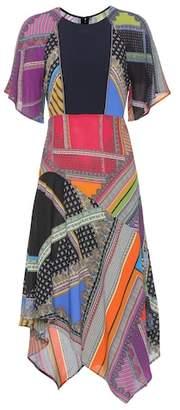 Etro Printed crêpe dress