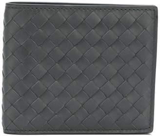 Bottega Veneta ardoise Intrecciato bi-fold wallet