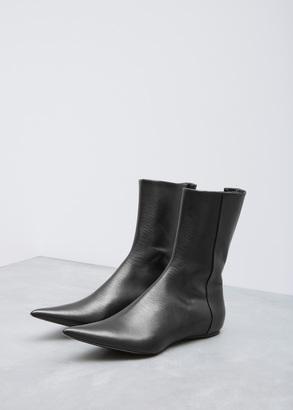 Haider Ackermann taurus black summer bootie $1,185 thestylecure.com