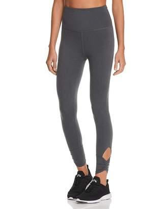 Beyond Yoga Plush Ruched-Cuff Leggings