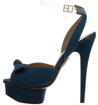 Charlotte Olympia Serena Platform Sandals