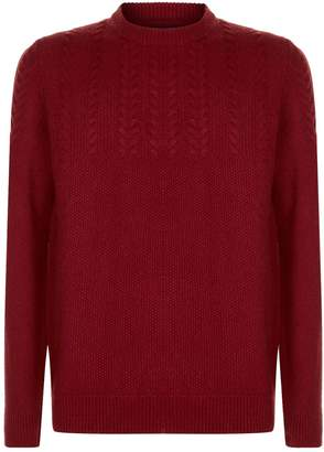 Barbour Crastill Cable Knit Sweater