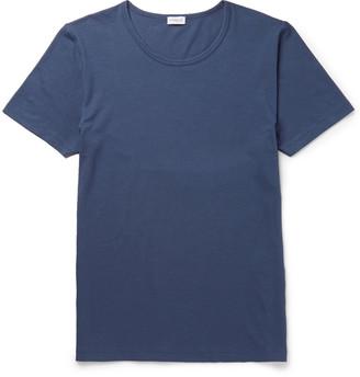 Zimmerli Stretch Cotton-Blend T-Shirt $120 thestylecure.com