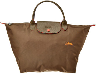 Longchamp Le Pliage Club Medium Nylon Short Handle Tote