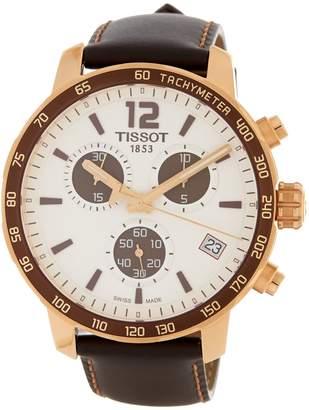 Tissot Men's Quickster Swiss Quartz Sport Watch, 42mm