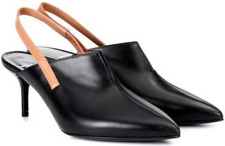 Pierre Hardy Secret leather slingback mules