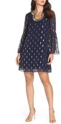 Lilly Pulitzer R) Amory Silk Shift Dress