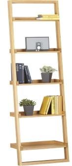 Sloane Leaning Bookcase