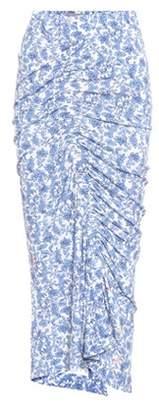 Cosmina floral-printed skirt
