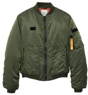 Mango man MANGO MAN Patches nylon bomber jacket
