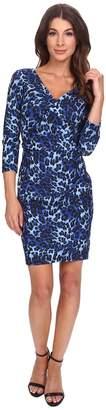 NYDJ Monique Cheetah Print Dress Women's Dress