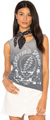 Junk Food Grateful Dead Tank in Gray $67 thestylecure.com