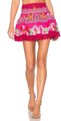 Camilla Short Frill Hem Skirt $400 thestylecure.com