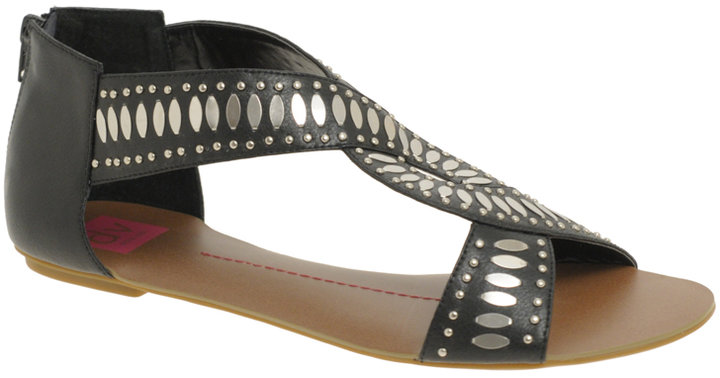 DV Saint Twist Front Flat Sandals