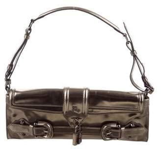 87cfa5dc2b29 Burberry Buckled Leather Shoulder Bag - ShopStyle