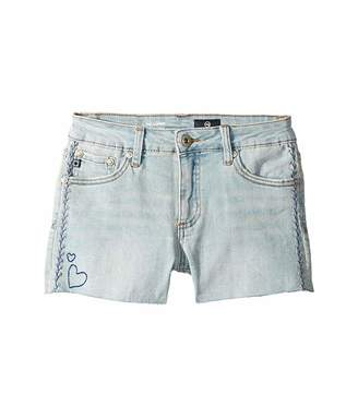 AG Adriano Goldschmied Kids Garden Shorts in Bluse Crush (Big Kids)