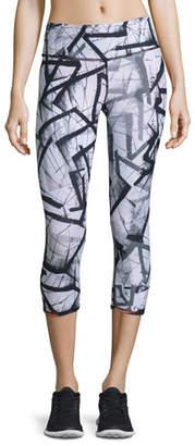 Vimmia Reversible Print Performance Capri Pants, Nebula $115 thestylecure.com