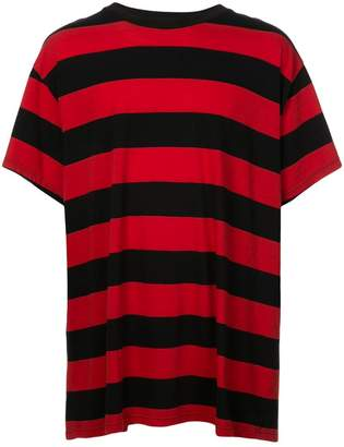Amiri striped oversized T-shirt