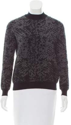 Christopher Kane Abstract Cashmere Sweater