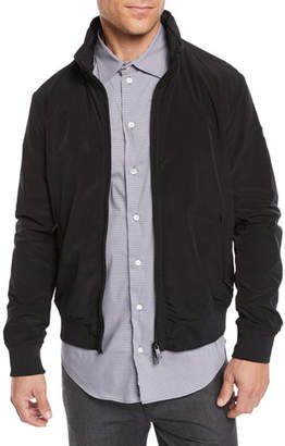 Emporio Armani Men's Short Nylon Bomber Jacket