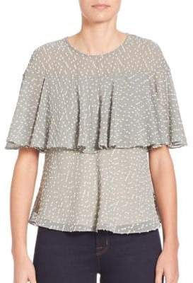 Ione Bell Sleeve Two-Layer Top