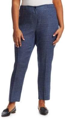 Marina Rinaldi Marina Rinaldi, Plus Size Regista Linen Pants