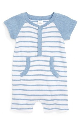 Infant Boy's Nordstrom Baby Striped Romper $25 thestylecure.com