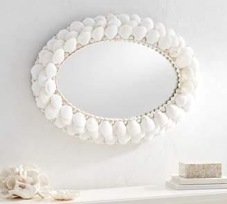 Pottery Barn Shell Mirror