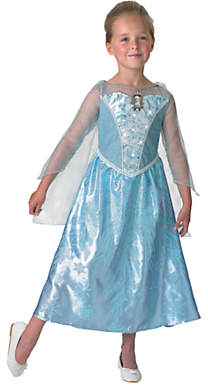 Rubie's Costume Co Disney Princess Frozen Light And Sound Elsa Costume, L (7-8 yrs)