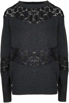 See by Chloe Sheer Paneled Jumper